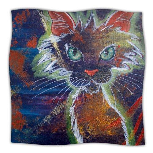Rave Kitty Microfiber Fleece Throw Blanket