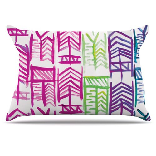 KESS InHouse Quiver III Pillowcase