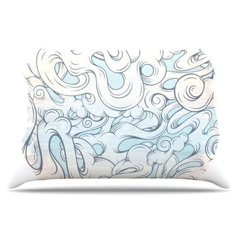 KESS InHouse Entangled Souls Pillowcase