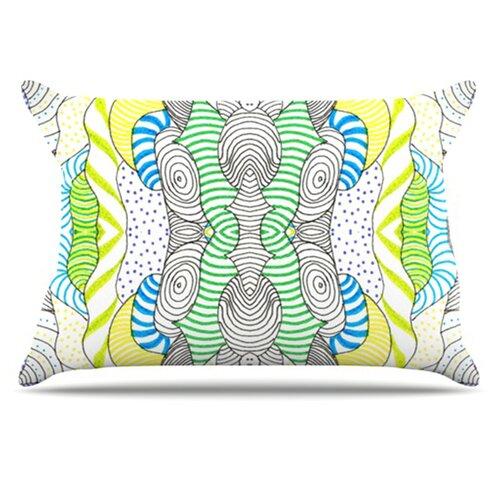 KESS InHouse Wormland Pillowcase