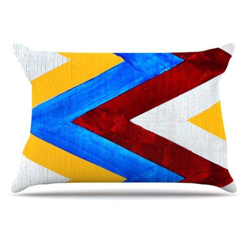 Zig Zag Pillowcase