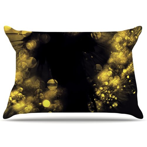 KESS InHouse Moonlight Dandelion Pillowcase