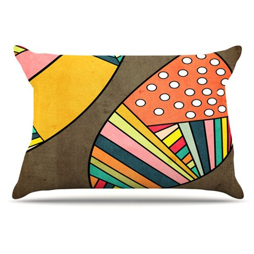 KESS InHouse Cosmic Aztec Pillowcase