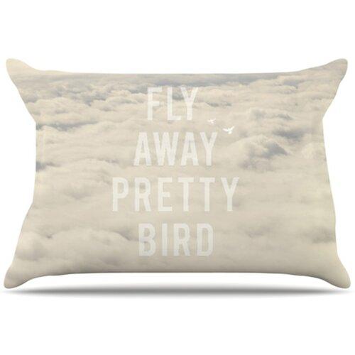 Fly Away Pretty Bird Pillowcase