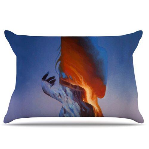 Volcano Girl Pillowcase