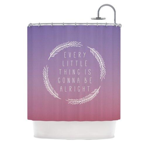 Little Thing Polyester Shower Curtain