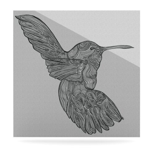 Hummingbird by Belinda Gillies Graphic Art Plaque
