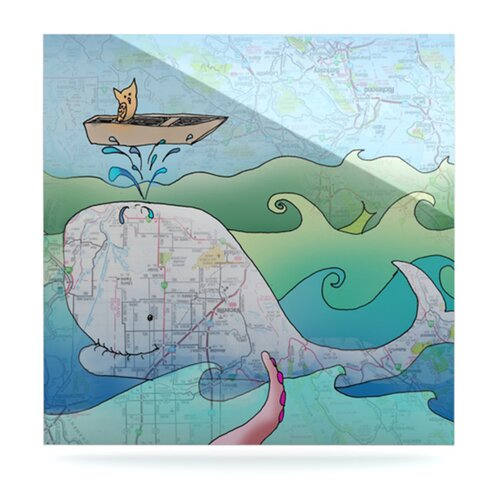 KESS InHouse I'm on a Boat by Catherine Holcombe Graphic Art Plaque