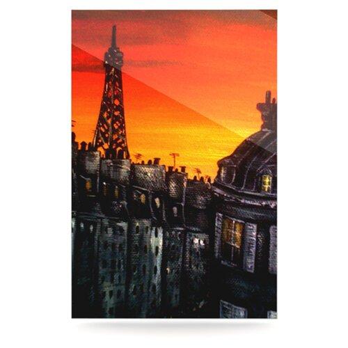 Paris by Christen Treat Painting Print Plaque
