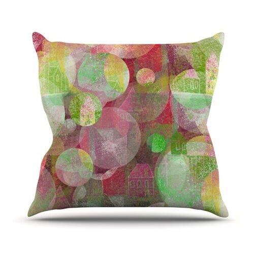 KESS InHouse Dream Place Throw Pillow