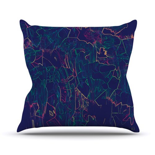 KESS InHouse Night Life Throw Pillow