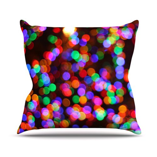KESS InHouse Lights II Throw Pillow