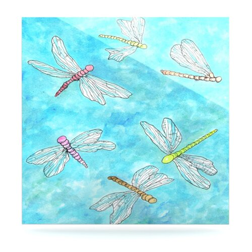 Dragonfly by Rosie Brown Painting Print Plaque
