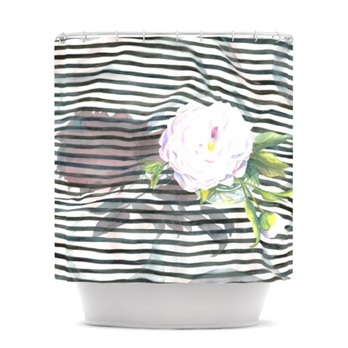 Peony N Polyester Shower Curtain