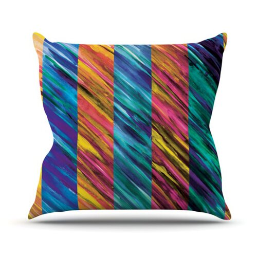 Set Stripes I Throw Pillow