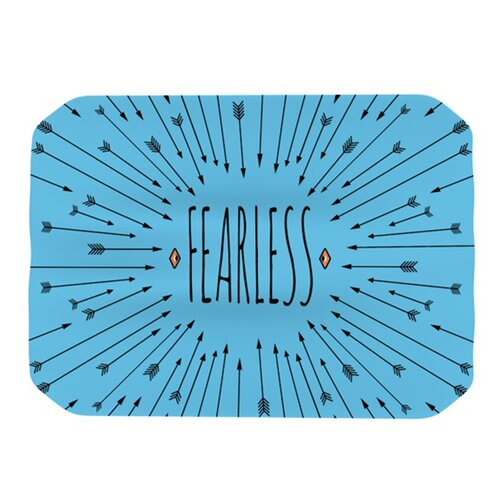 KESS InHouse Fearless Placemat
