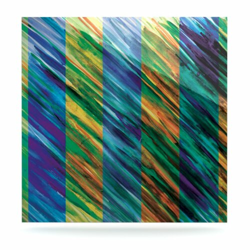 Set Stripes II by Theresa Giolzetti Painting Print Plaque