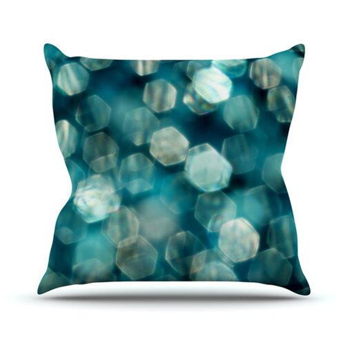 Shades of Blue Throw Pillow