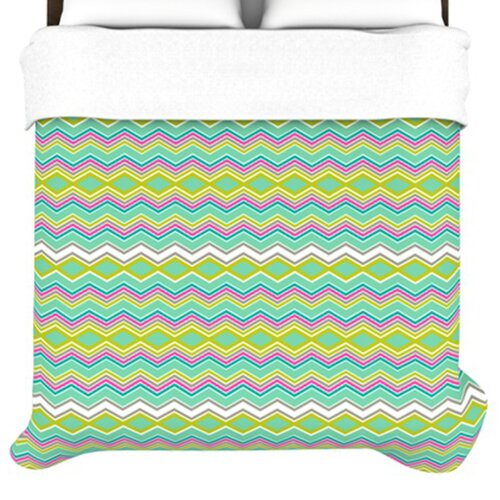 Chevron Love Duvet Cover