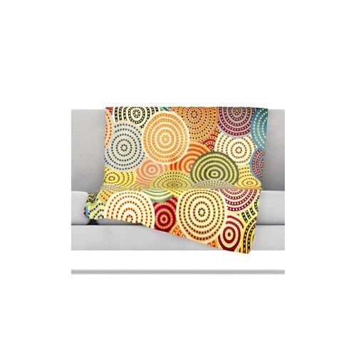 KESS InHouse Matias Girl Microfiber Fleece Throw Blanket