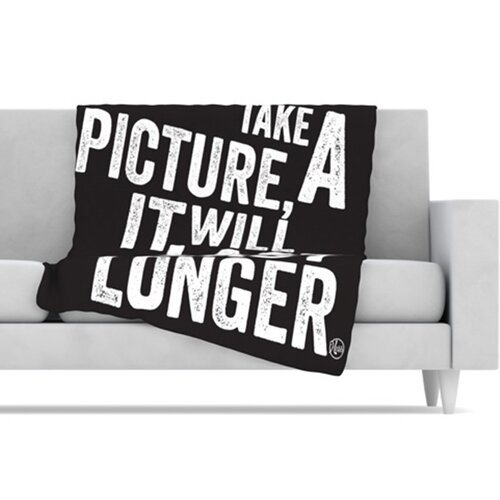 Take a Picture Fleece Throw Blanket