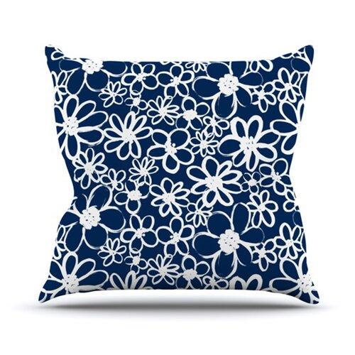 Daisy Lane Throw Pillow