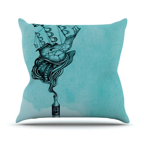 KESS InHouse All Aboard Throw Pillow