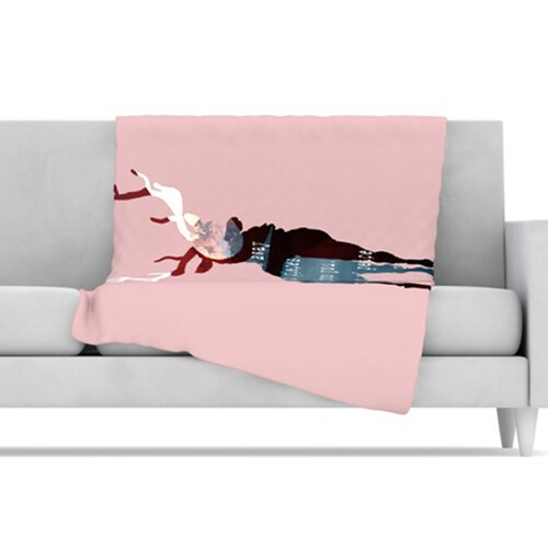 Oh Deer Fleece Throw Blanket