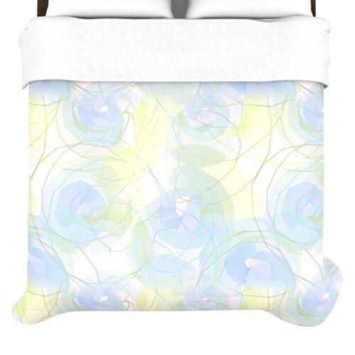 KESS InHouse Paper Flower Duvet