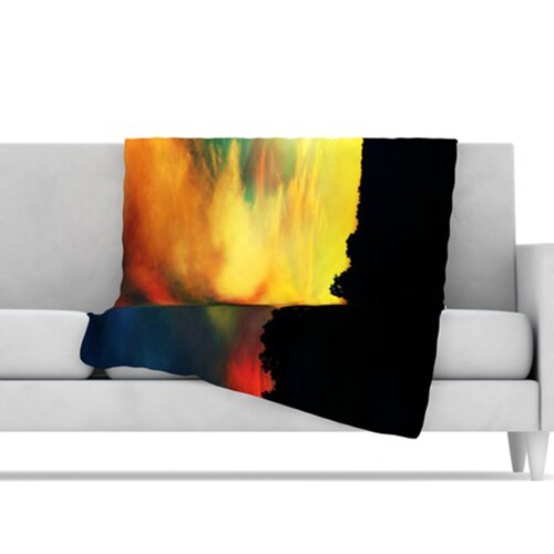A Dreamscape Revisited Microfiber Fleece Throw Blanket