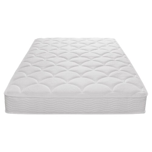 "Sleep Revolution 8"" Tight Top Spring Mattress and Steel Foundation Set"