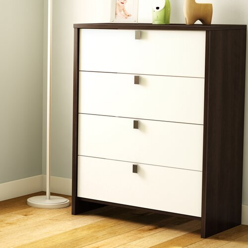 South Shore Cookie 4 Drawer Standard Chest