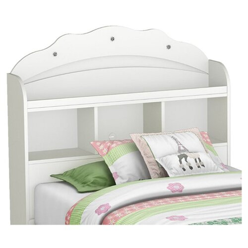 South Shore Tiara Twin Bookcase Headboard