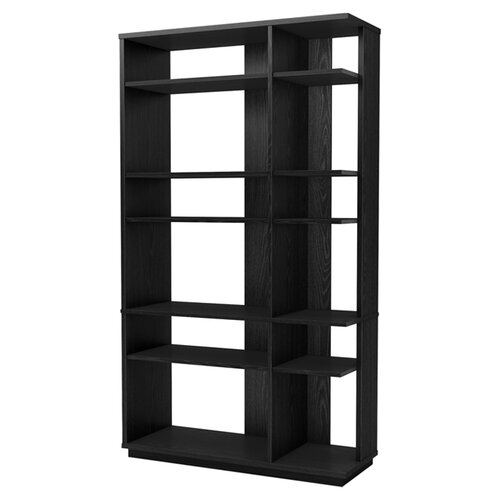 Black Open Back Bookcase Wayfair