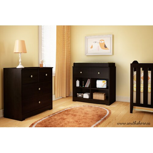 South Shore Little Teddy 3 Drawer Chest