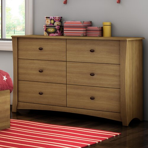 South Shore Jumper 6 Drawer Dresser