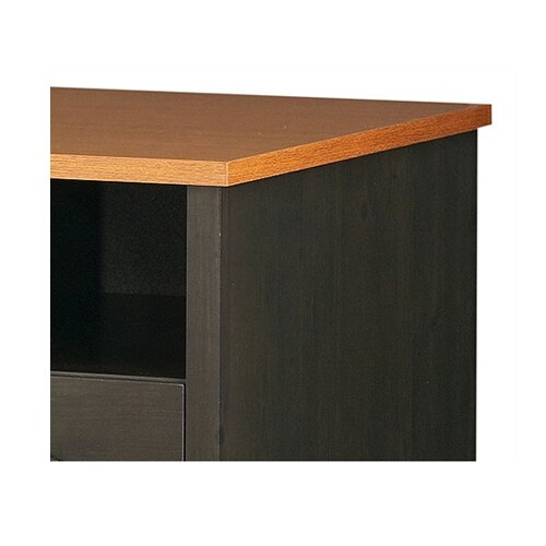South Shore Gascony Desk in Ebony