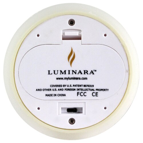 Luminara Unscented Flameless Candle