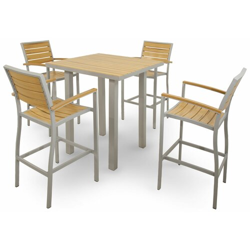 Ivy Terrace 5 Piece Bar Set