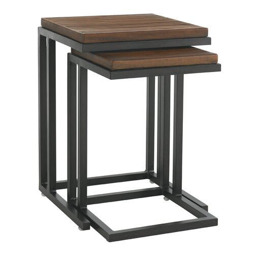 Tommy Bahama Outdoor Ocean Club Pacifica Nesting Table (Set of 2)