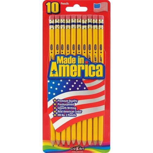 #2 Pre Sharpened Pencil (10 Count)