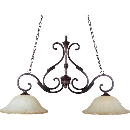 Wildon Home ® Schubert 2 - Light Island Pendant