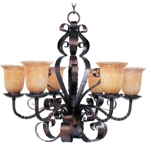 Benavente 6 - Light Single - Tier Chandelier