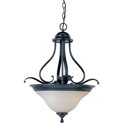 Wildon Home ® Rytmo 3 - Light Invert Bowl Pendant