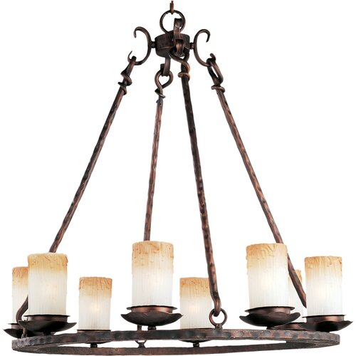 Maxim Lighting Notre Dame 8-Light Chandelier