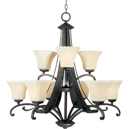 Wildon Home ® Zylo 9 - Light Multi - Tier Chandelier