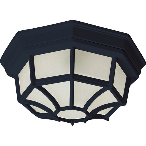 Maxim Lighting Side Door Outdoor Flush Mount