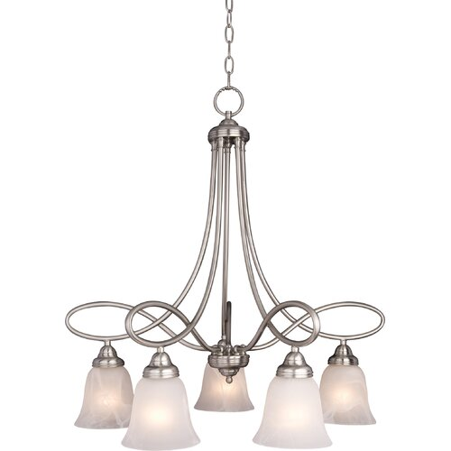 Wildon Home ® Zelo 5 - Light Down Light Chandelier