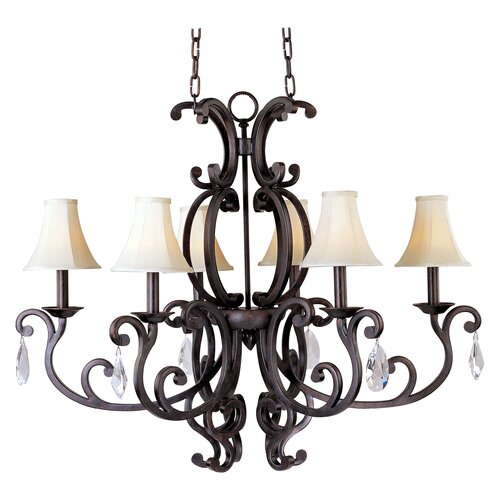 Wildon Home ® Hailee 6 - Light Mini Chandelier
