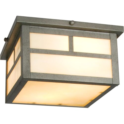 Maxim Lighting Craftsman Outdoor Flush Mount